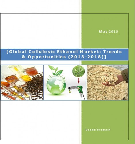 Global Cellulosic Ethanol Market (2013-2018) - Research and Consulting Firms
