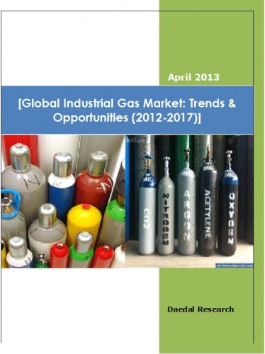 Global Industrial Gas Market (2012-2017) - Research and Consulting Firm