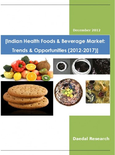 Indian Health Foods & Beverage Market (2012-2017) - Business Research Companies