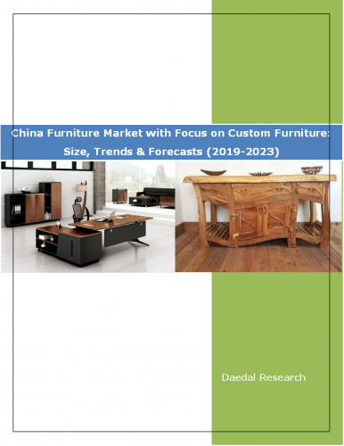 China Furniture Market Report with Focus on Custom Furniture: Size, Trends & Forecasts (2019-2023)