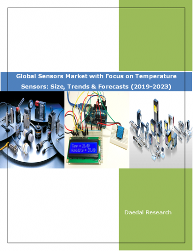 Global Sensors Market Report with Focus on Temperature Sensors Market: Size, Trends and Forecasts (2019-2023)