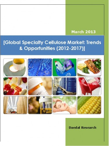 Global Specialty Cellulose Market (2012-2017) - Business Research Report