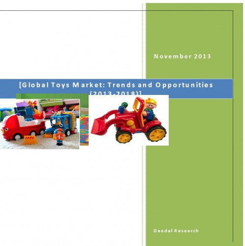 Global Toys Market (2013-2018) - Business Research Companies