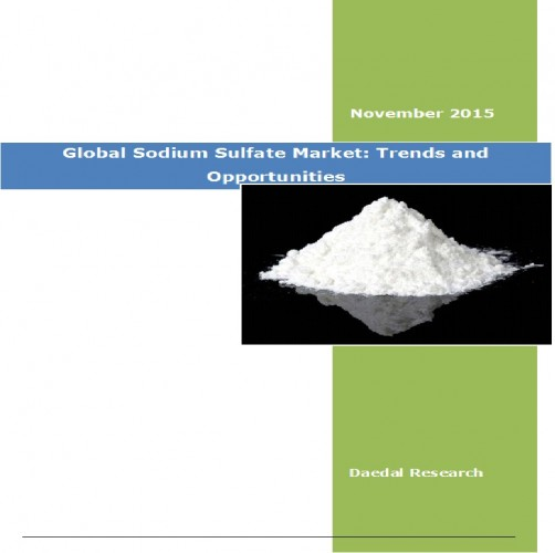 Global Sodium Sulfate Market (2015 – 2019) - Business Research Report