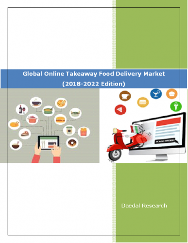 Global Online Takeaway Food Delivery Market Report: Size, Trends & Forecasts (2018-2022 Edition)