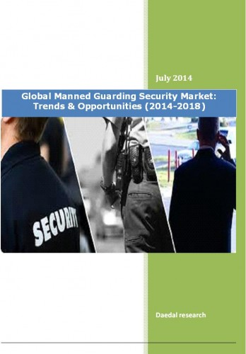 Global Manned Guarding Security Market (2014-19) - Business Research Reports