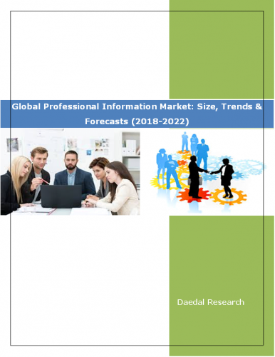 Global Professional Information Market Report: Size, Trends & Forecasts (2018-2022)