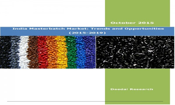 Indian Masterbatch Market (2015-2019) - Market Research Solutions India