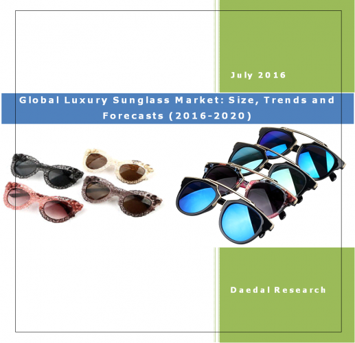 Global Luxury Sunglass Market: Size, Trends and Forecasts (2016-2020)