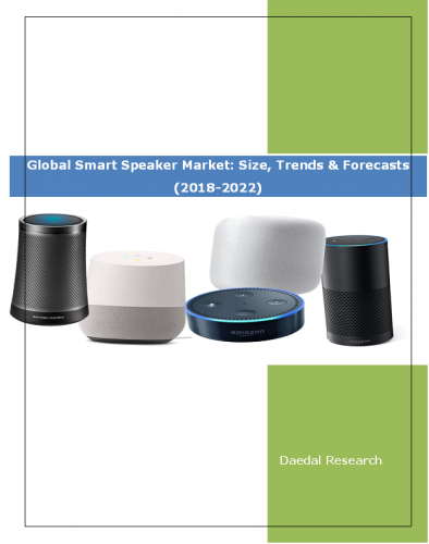 Global Smart Speaker Market Report: Size, Trends and Forecasts (2018-2022)