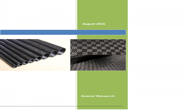 Global Carbon Fiber Market: Trends and Opportunities (2015-2019)
