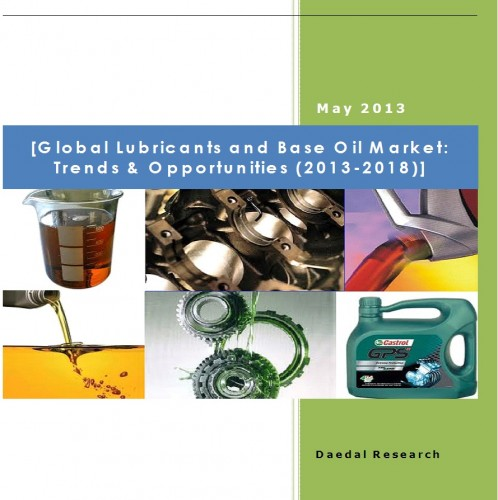 Global Lubricants and Base Oil Market (2013-2018) - Market Research Companies