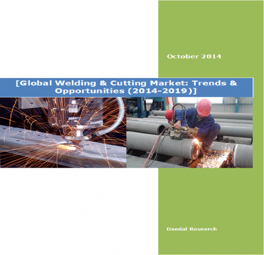 Global Welding & Cutting Market: Trends & Opportunities (2014-2019)