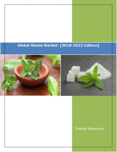 Global Stevia Market Report (by Type, by Application, by Region) (2018-2022 Edition)