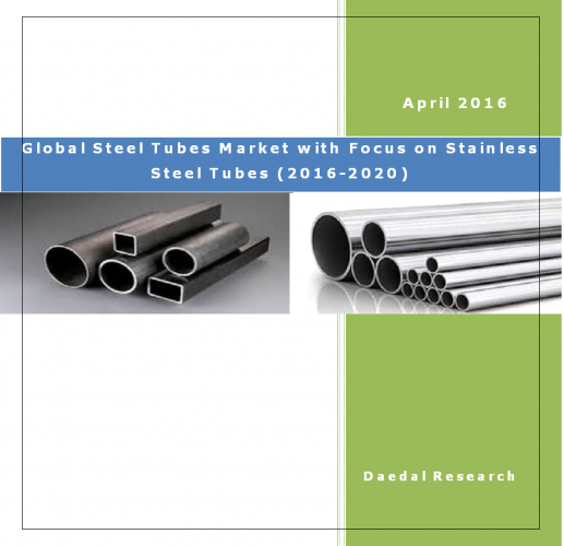 Global Steel Tubes Market with Focus on Stainless Steel Tubes (2016-2020), Business Research Reports.