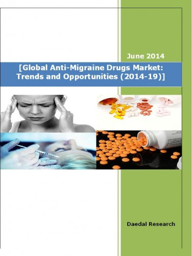 Global Anti Migraine Drugs Market : Trends and Opportunities (2014-19)
