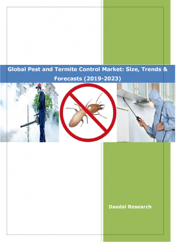 Global Pest and Termite Control Market :: Pest Control Market Size in India