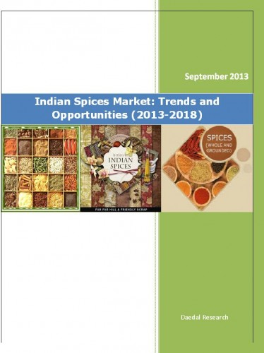 Indian Spices Market (2013-2018) - Market Research Reports India