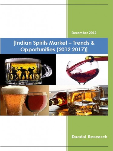 Indian Spirits Market (2012 2017) - Market Research Solutions India