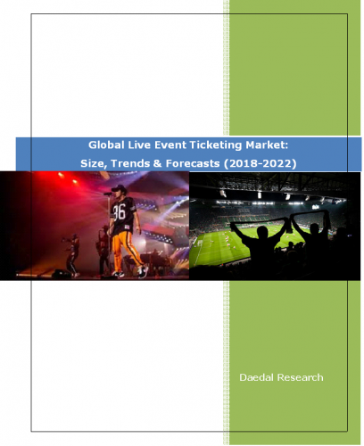 Global Live Event Ticketing Market Report: Size, Trends & Forecasts (2018-2022)
