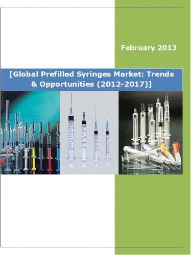 Global Prefilled Syringes Market (2012-2017) - Business Market Research Reports