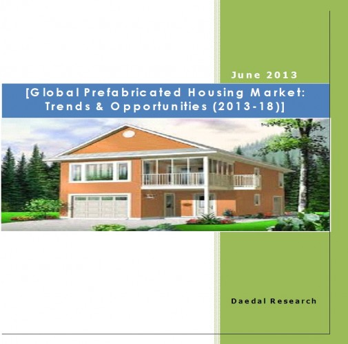 Global Prefabricated Housing Industry: Trends & Opportunities (2013-18)
