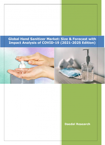 Global Hand Sanitizer Market: Size & Forecast (2021-2025) with Impact Analysis of COVID-19