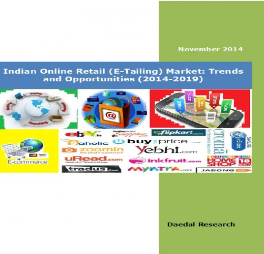 Indian Online Retail (E-Tailing) Market (2014-2019) - Market Research Reports India