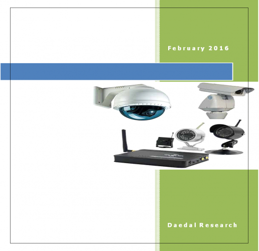 Global Video Surveillance System Market with Focus on Equipments: (2016-2020)