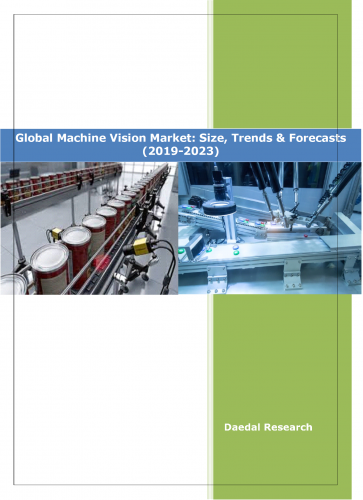 Machine Vision market growth Research Reports : Machine vision market outlook, industry, size Firms || Daedal Research