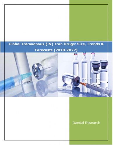Global Intravenous (IV) Iron Drugs Market Report: Size, Trends and Forecasts (2018-2022)