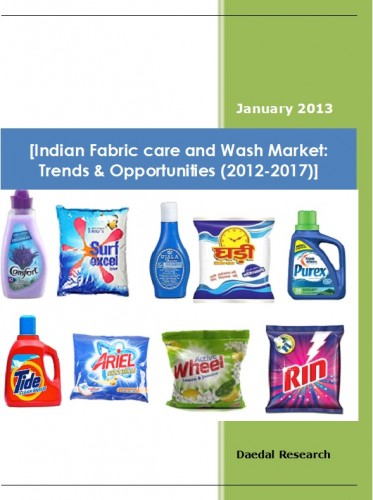 Indian Fabric care and Wash Market (2012-2017) - Market Research Companies