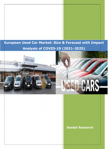 European Used Car Market: Size & Forecast (2021-2025) with Impact Analysis of COVID-19