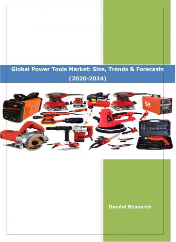 Global Power Tools Market Size & Share | Industry Analysis 2020 to 2024