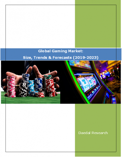 Global Gaming Market Report: Size, Trends & Forecasts (2019-2023)