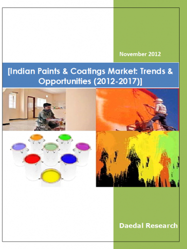 Indian Paints & Coatings Market (2012-2017) - Business Market Research Reports