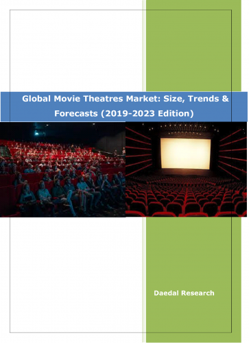 Global Movie Theatres Market Reserch Reports || Movie theater industry statistics at Daedal Research