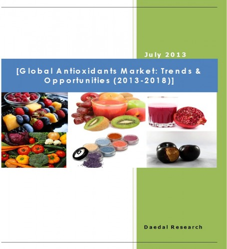 Global Antioxidants Market (2013-2018) - Research and Consulting Firms