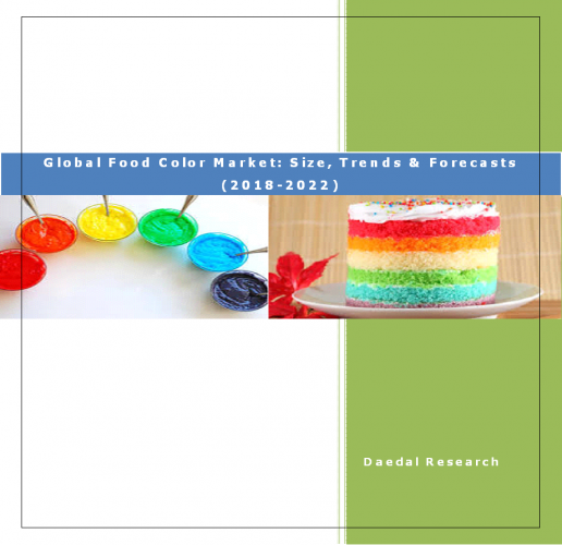 Global Food Color Market Research Report: (2018-2022)
