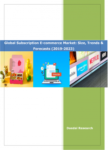 Subscription E-commerce size and forecasts | Subscription E-commerce trends and opportunities | Subscription E-commerce market size