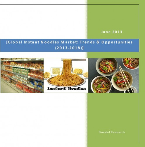 Global Instant Noodles Market (2013-2018) - Business Research Report
