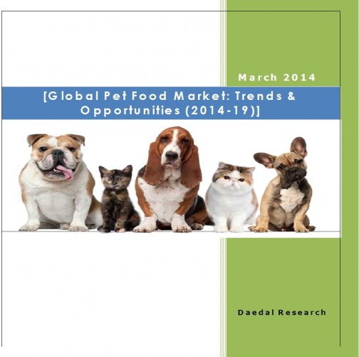 Global Pet Food Market (2014-19) - Research and Consulting Firm