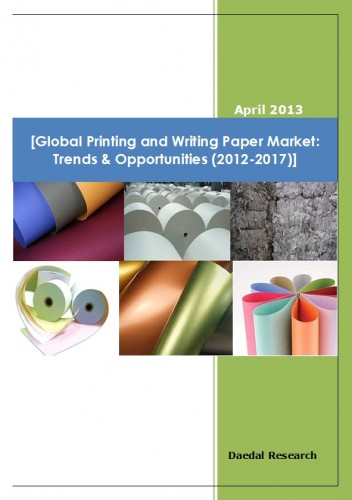 Global Printing and Writing Paper Market Trends & Opportunities