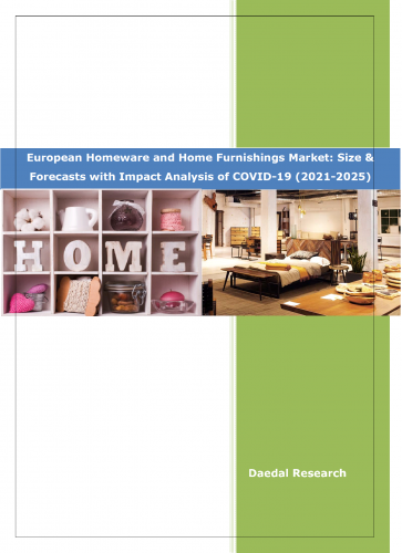 European Homeware and Home Furnishings Market: Size & Forecast (2021-2025) with Impact Analysis of COVID-19